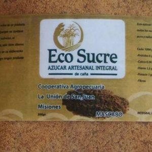 Azúcar integral mascabo Eco Sucre