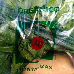 Bolsón de vegetales grande Sasaki orgánico certificado