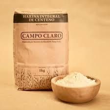 Harina de Centeno. Campo Claro Orgánico Certificado.