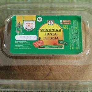 Miso. Sasaki Orgánico Certificado.