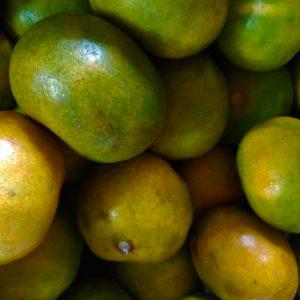Mandarina orgánica