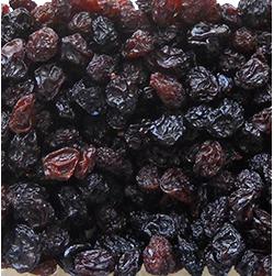 Pasas de uva orgánica certificado
