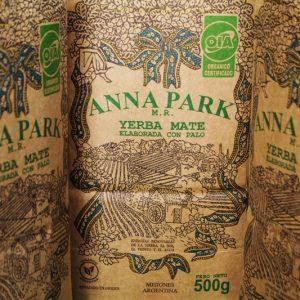 Yerba Anna Park orgánico certificado