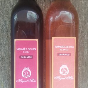 Vinagre de uva blanca Orgánico Certificado Anahata